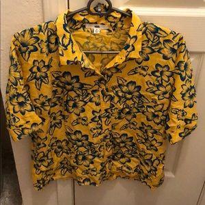 VANS floral shirt
